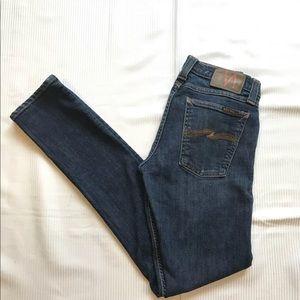 Nudie Tight Long John Stretch Slim Skinny Jeans
